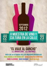 II Muestra de Cultura, Vino y Calle