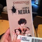 """Chirigóticas presenta """"La Copla Negra"""". Teatro de las Esquinas."""